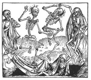 "Hans Holbein, ""The Dance of Death"""